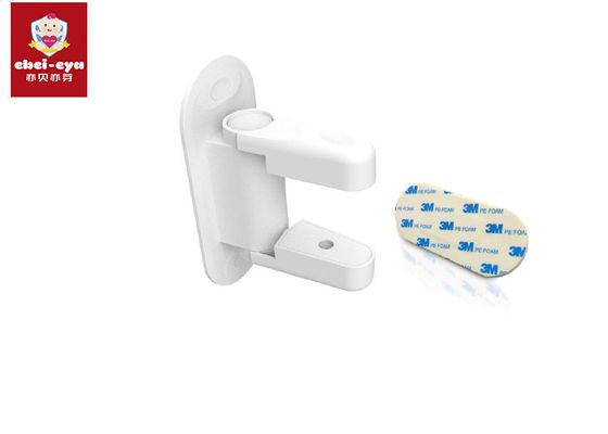 Baby Security Door Handle Lock 3M Adhesive , Door Lever Lock