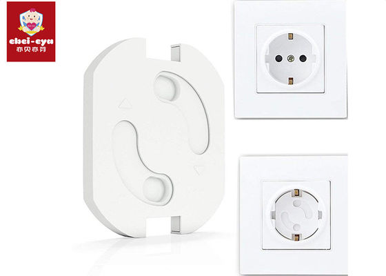 Electronic Socket Child Safety Outlet Covers Deeply Insert / Close Baby Proof