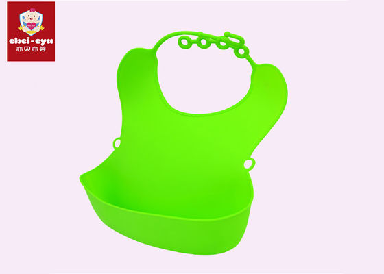 BPA Free Baby Waterproof Feeding Bibs , Washable Baby Bibs 0-3 Years Old Suitable