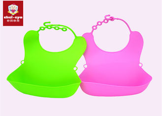 Customized Logo Baby Shampoo Cap Anti Bacterial Waterproof Baby Bibs Set 3mm Thickness