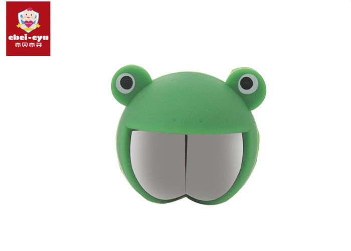 Anti Collision Angle Safety Corner Protectors Silicone Rubber Frog Shape No Smell