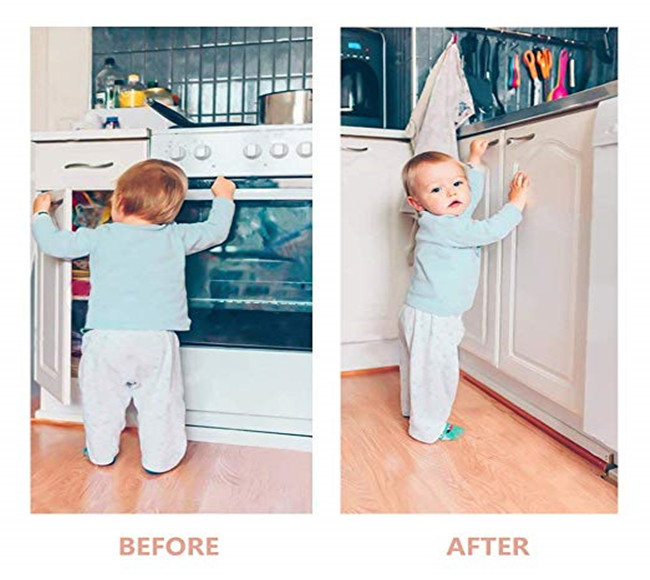 Improved Child Safety  Spring Locks With Stronger 3M Advertise Backing  Child Safety Cabinet Locks