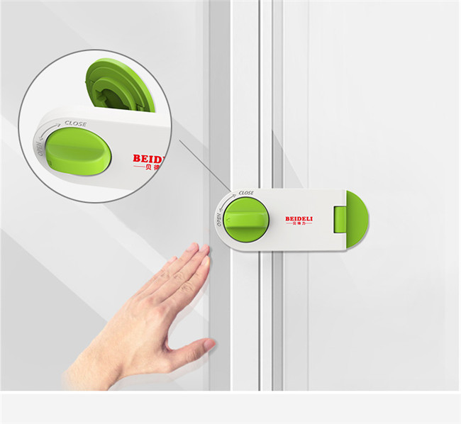 Rotatable Child Safety Window Locks Easily Installed For Sliding Window Drawer