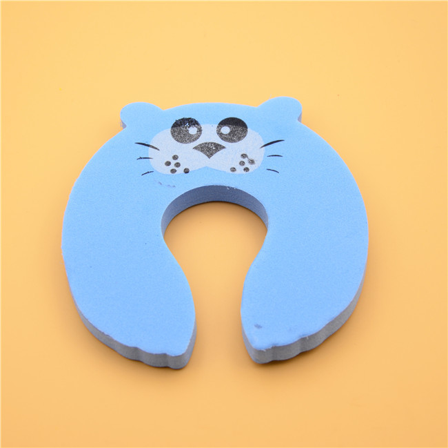 EVA Baby Door Stopper Child Safety Cute Animal Shape With SGS Certification